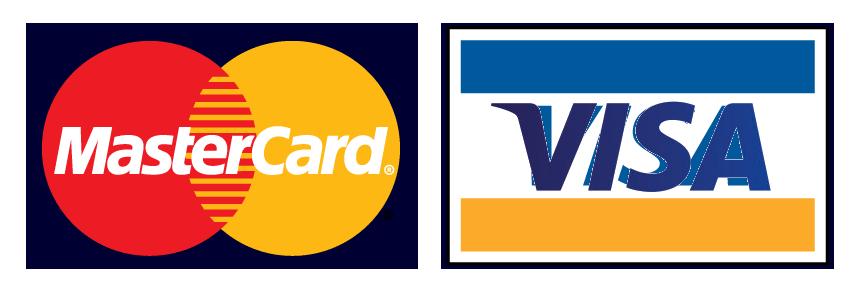 Visa/Mastercart logo